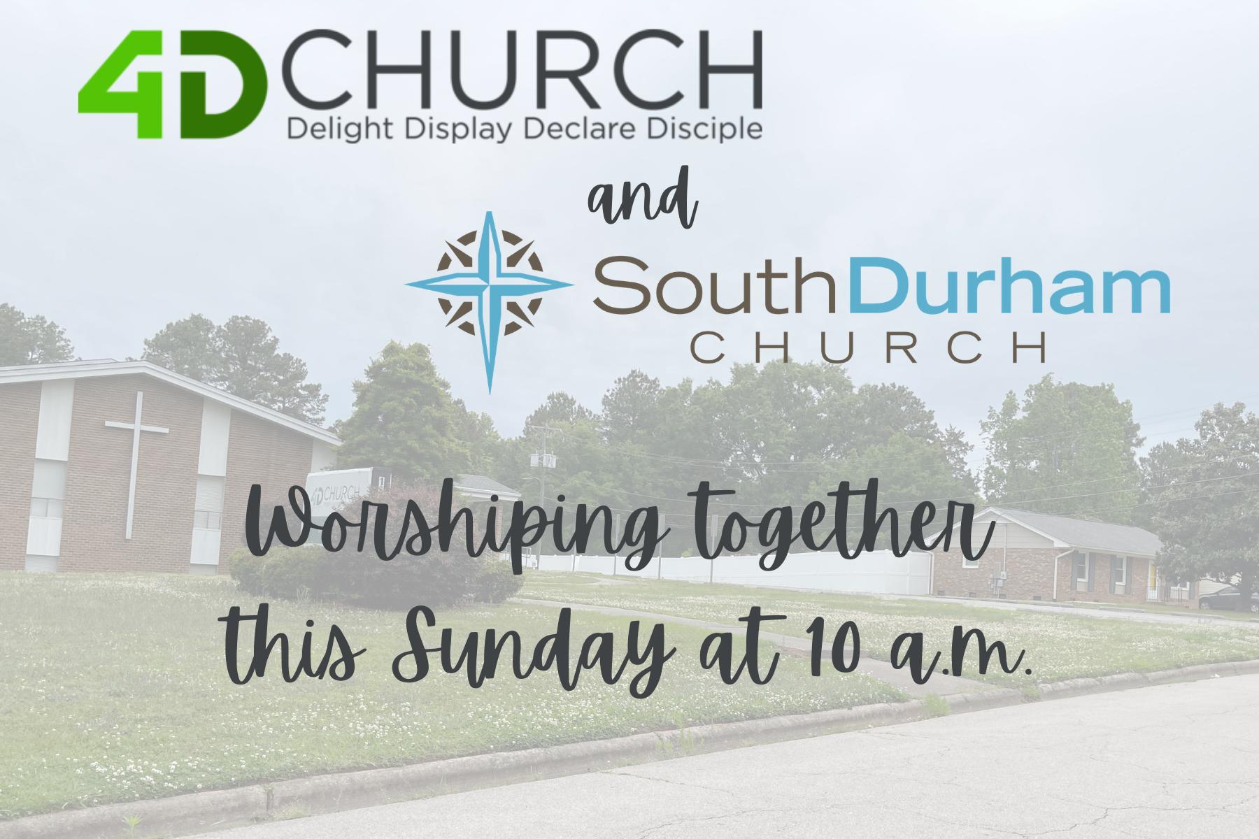 Joint Worship Service 4D n SDC original